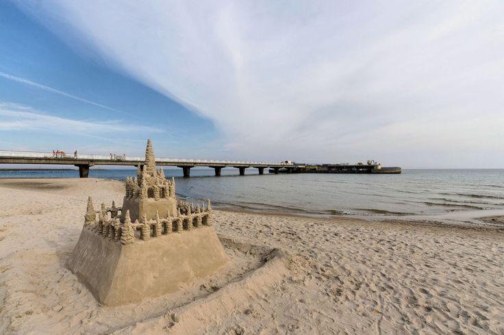 Kołobrzeg - Plaża wschodnia w Kołobrzeg, Województwo zachodniopomorskie