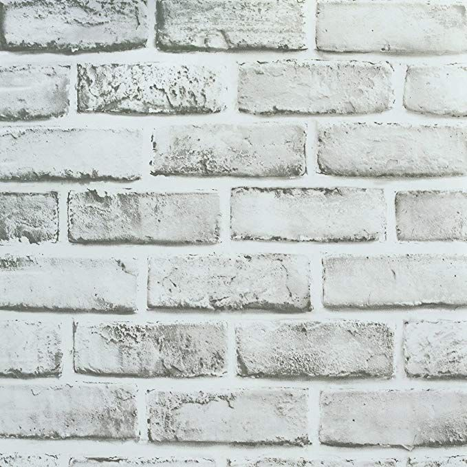 Wallpaper Brick Removable Self Adhesive Contact Paper Roll For Room Decor 17 71 X 196 85 White Room Decor Contact Paper Decor
