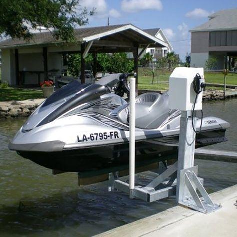 Mini Mag 800 lb Capacity Dock Mount Jet Ski Lift