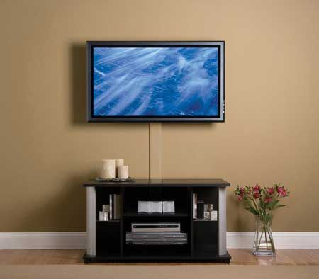 I have always wanted a flat screen TV, and I think a wall-mounted one would be perfect