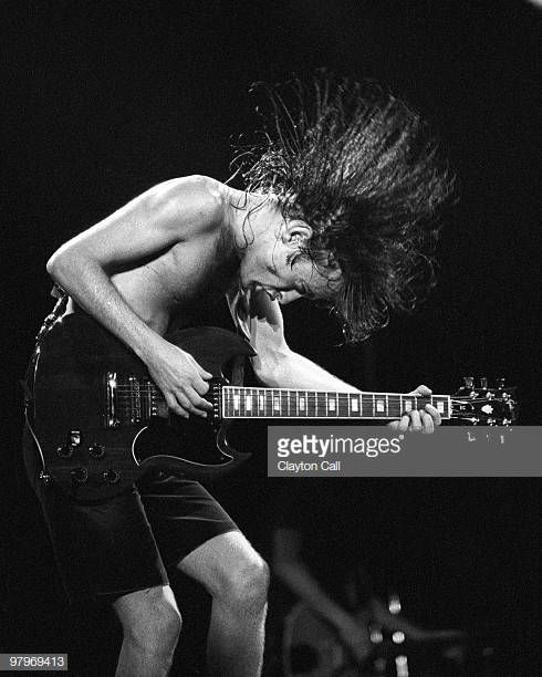 Image result for angus young on stage