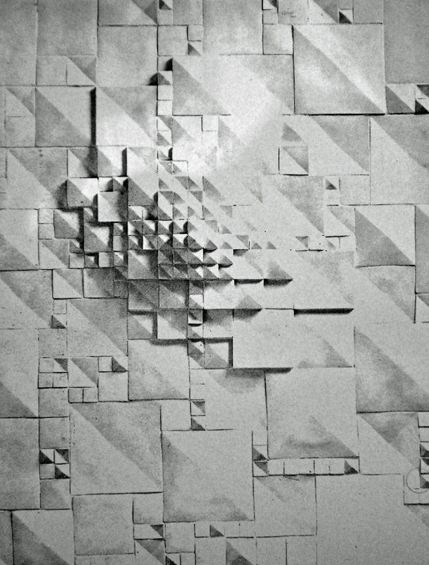 Rut Bryk. Abstract Modular Pieces. Ceramic