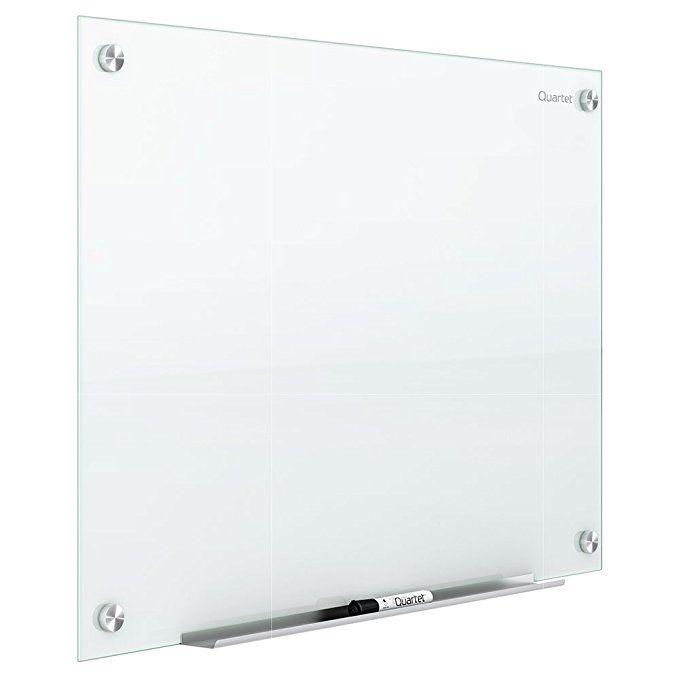 Quartet Glass Dry Erase Board Whiteboard White Board Magnetic 4 X 3 White Surface Frameless Glass Dry Erase Dry Erase Whiteboard Glass Dry Erase Board