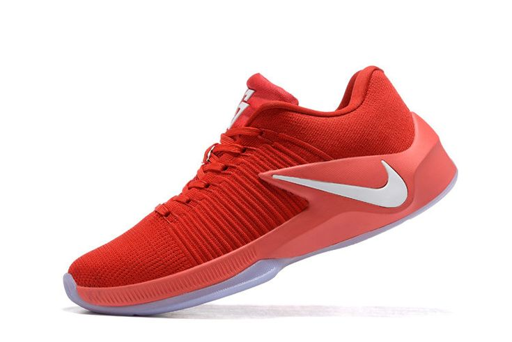 Free Shipping Only 69$ Nike Zoom Clear Out Low Draymond Green Shoes 2017 China Red Bright Crimson