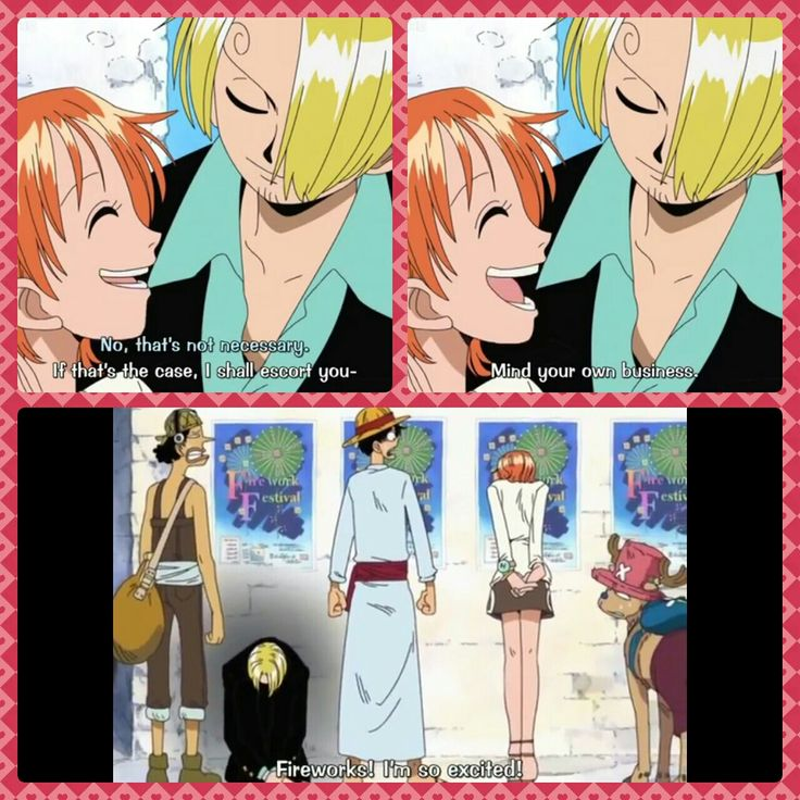 Sanji, Nami, Usopp, Luffy, Chopper, text, quote, comic, funny, fireworks, One Piece; Photo Collages