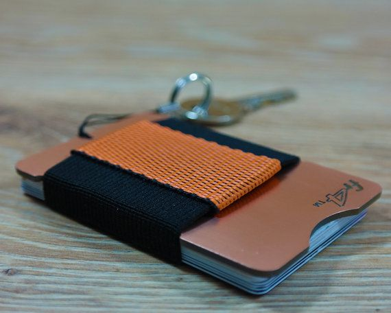 fr4™ Minimallist RFID-Blocking slim front-pocket wallet made of copper-covered Glass-Epoxy laminate is the best way to protect your credit or business