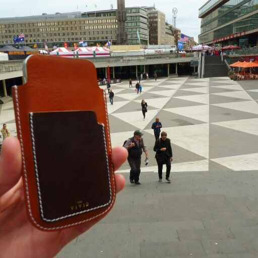 Fourth stop in #Stockholm -> http://etsy.me/1Fjvzpl <- Escape the ordinary. #bevivid #sweden #iphone5 #iphonecase #leathersleeve #leather