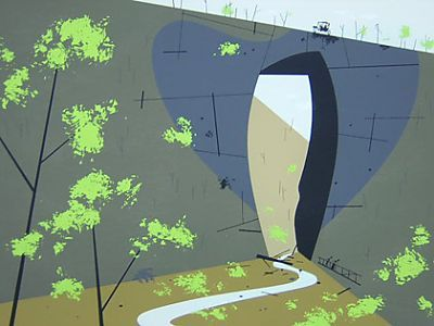 Charley Harper's Natural Bridge