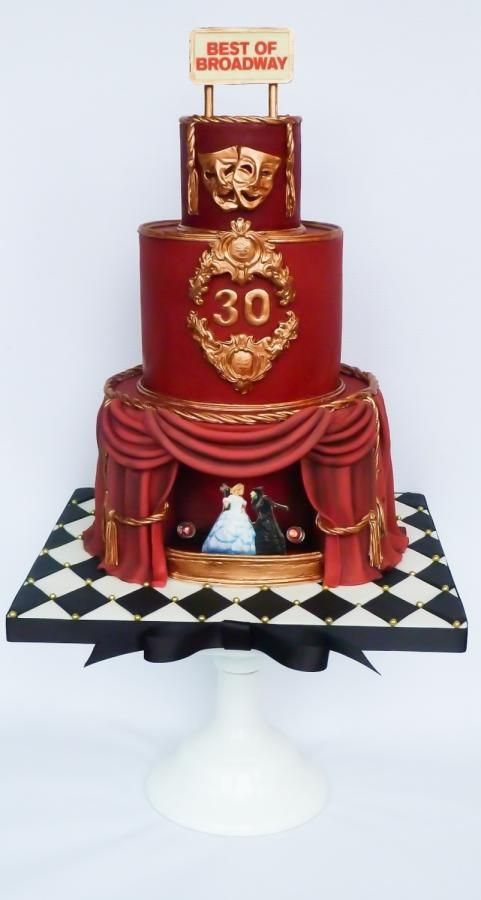 Cake Design Show Roma : 33 best images about Theatre/Show Themed Cakes on ...