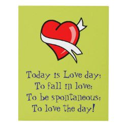 Today is Love day