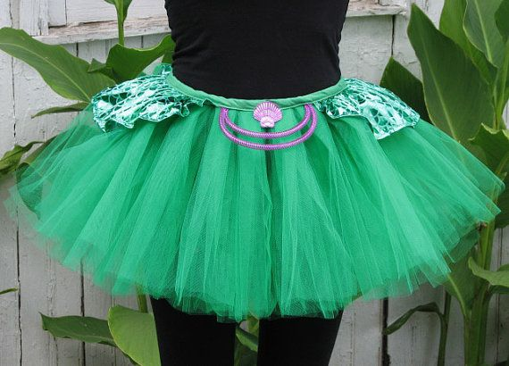 The Little Mermaid inspired Under The Sea Running Tutu by SunshineMemories on Etsy