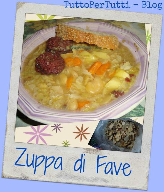 TuttoPerTutti: E per cena?? Zuppa! Calda, sana e gustosa! Un abbraccio anti-freddo! http://tucc-per-tucc.blogspot.it/2015/11/zuppa-di-fave.html