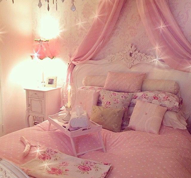 Pink Girly Bedroom Accessories: 722 Best Images About Room Ideas On Pinterest