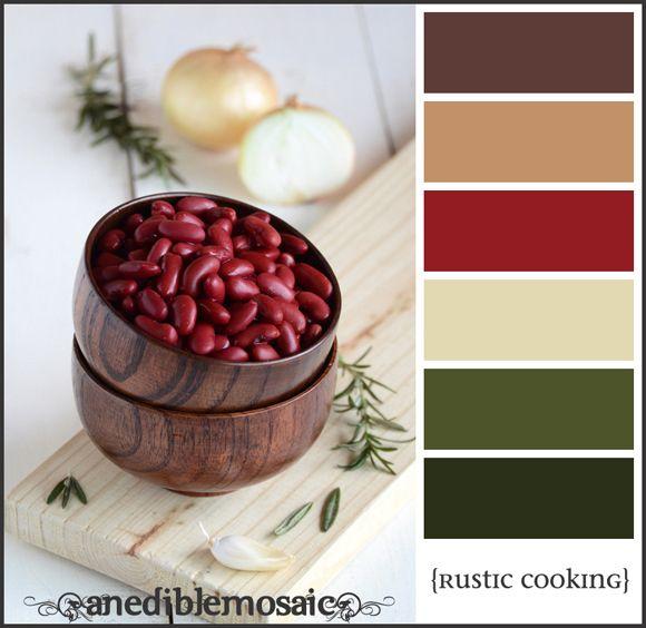 Put together colour palettes