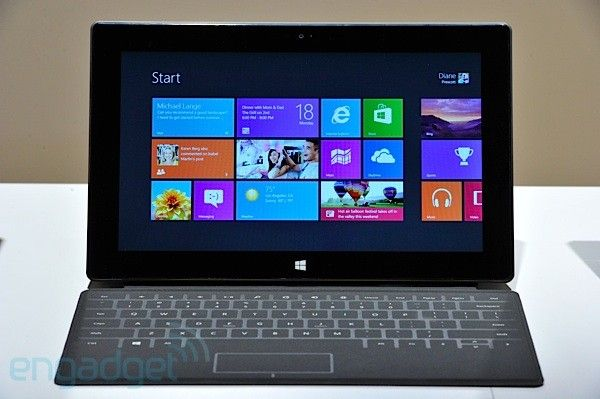surface with windows 8