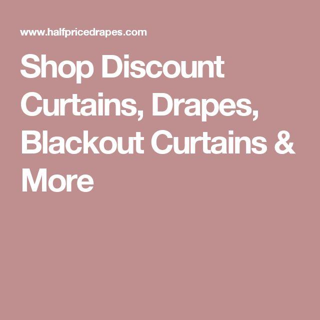 Shop Discount Curtains, Drapes, Blackout Curtains & More