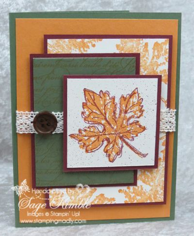Join Mad Stampers Club and earn the free video tutorial for the Gently Falling Card