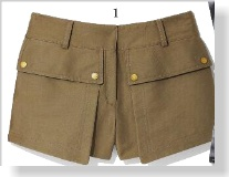 Belstaff Shorts, $795 clipped from Marie Claire using Netpage. Of course these are way too expensive to buy, but I love them.