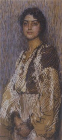 Florence Rodway - The Romanian Blouse (1912)