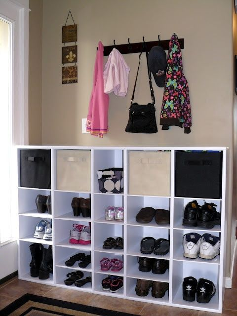 Mudroom Storage Solutions : Ideas about shoe storage solutions on pinterest