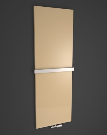 Velvet: Designer radiator HOTHOT in vertical or horizontal version. Radiator with decorative cover. Panel design radiator. Luxury room radiator into modern interior. Available in 216 colours. Available with chrome rail and chrome valve. Delivery: 4 weeks.