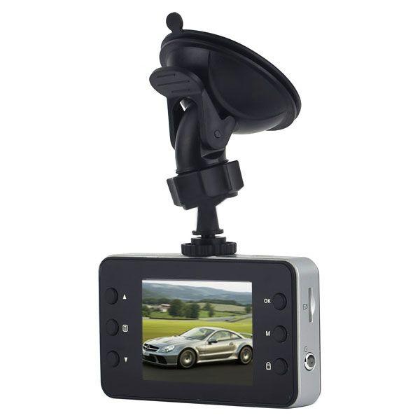 Автомобильный видеорегистратор с экраном 2.4″