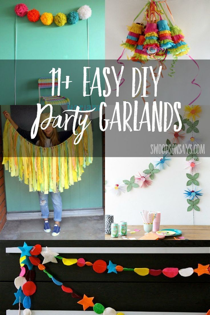 114 best Easy Party Decorations images on Pinterest 1st birthday