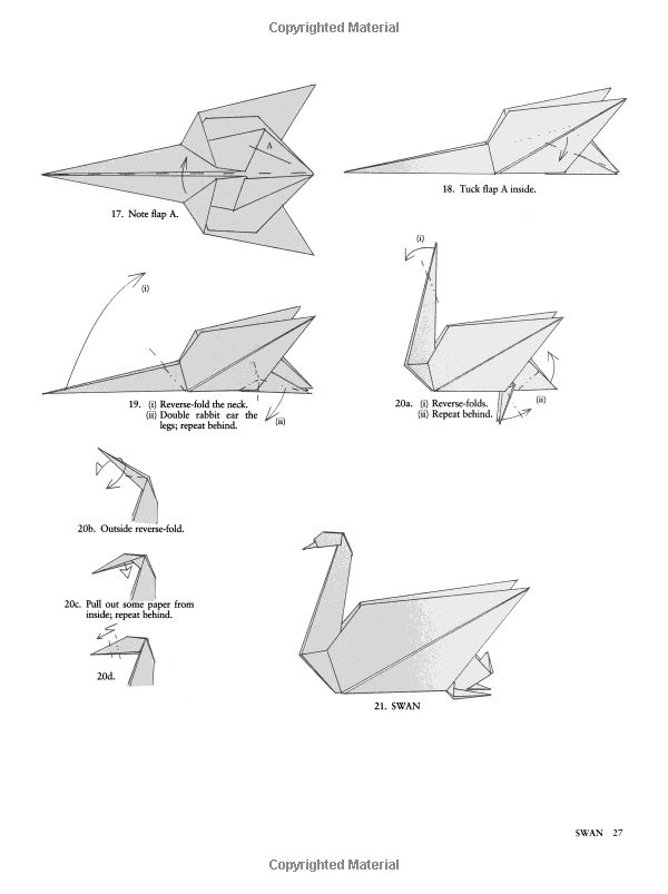 Animal Origami For The Enthusiast  Step
