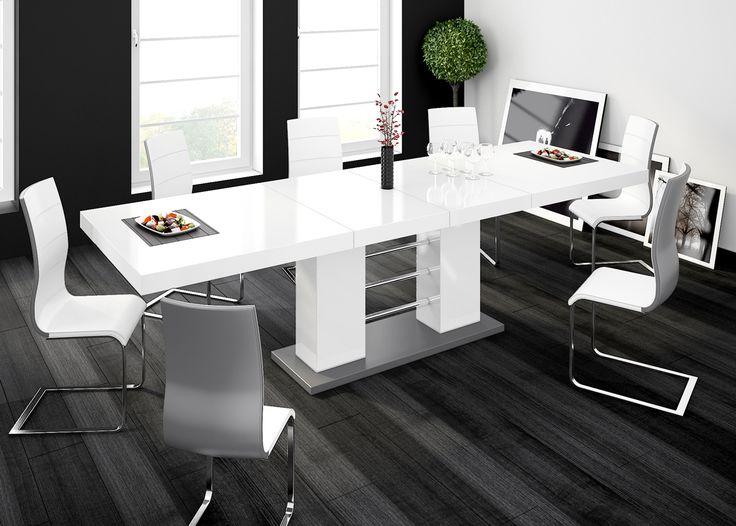 Stół Linosa 2 - Hubertus meble - Biały