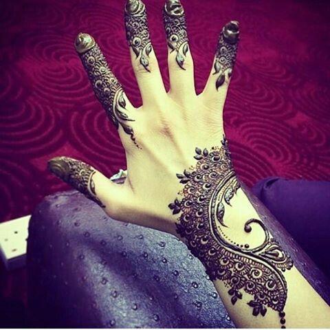 henna simple
