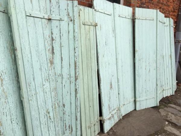antieke luiken oude louvredeuren brocante unieke deuren - huntingad.com