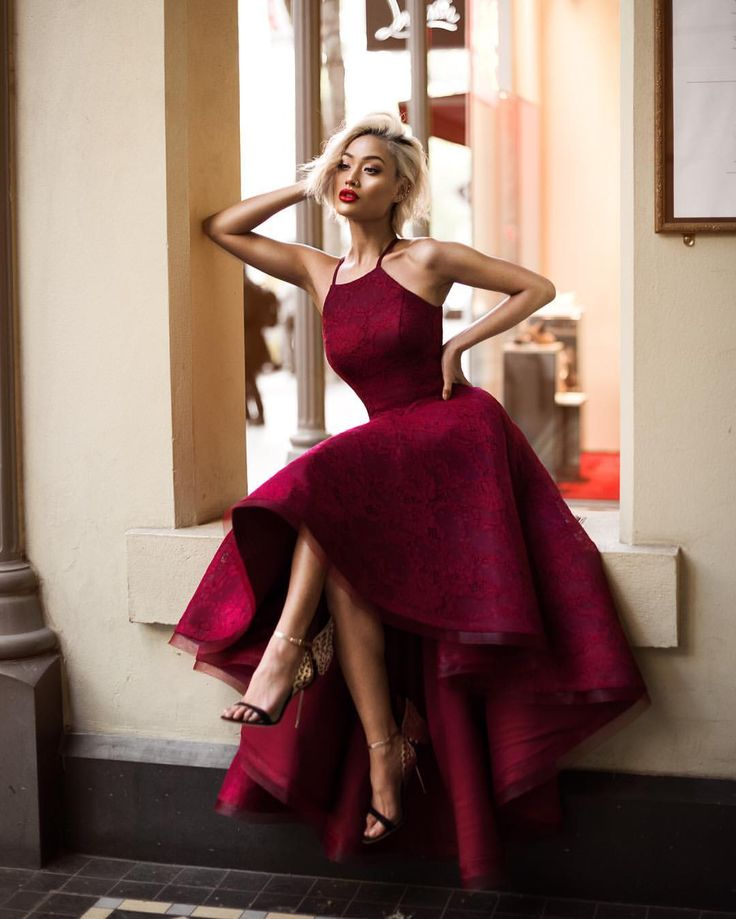 Top 25 best Red cocktail dress ideas on Pinterest Red dress