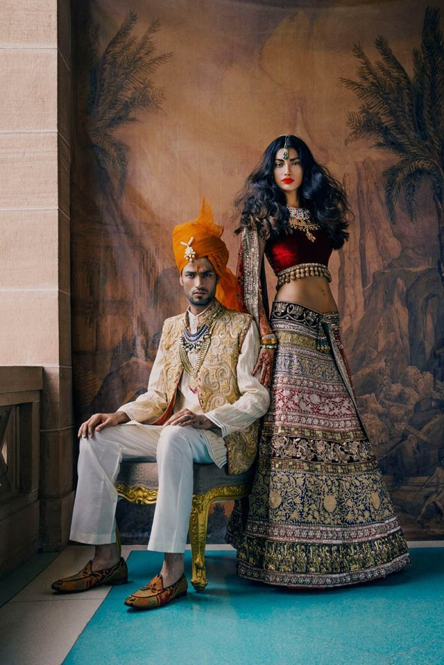 indian wedding - editorial from vogue india