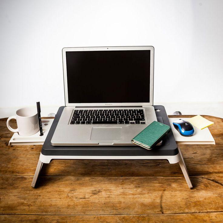 Die AlwaysOn Station: Superpraktisches Mini-Büro für Schreibtischmuffel oder Leute die gar keinen Schreibtisch haben und zu Hause arbeiten müssen/dürfen/wollen.