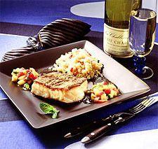 Grillet torsk med eksotisk salsa og couscous - Aperitif.no