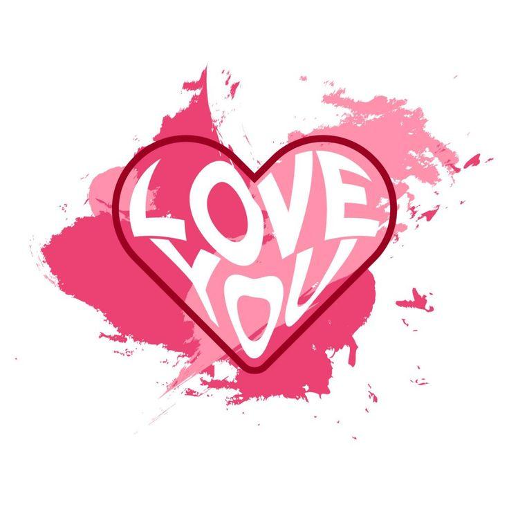Love You Shape Heart – Freemocks