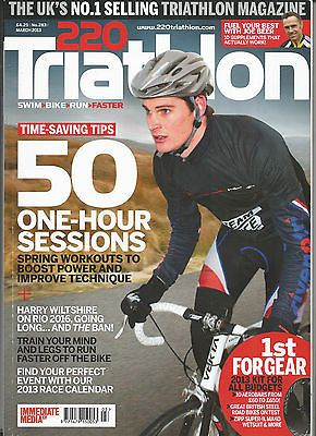 Triathlon 220 #magazine 2013  # 283 - 50 one hour sessions - #harry #wiltshire - ,  View more on the LINK: 	http://www.zeppy.io/product/gb/2/172064927789/