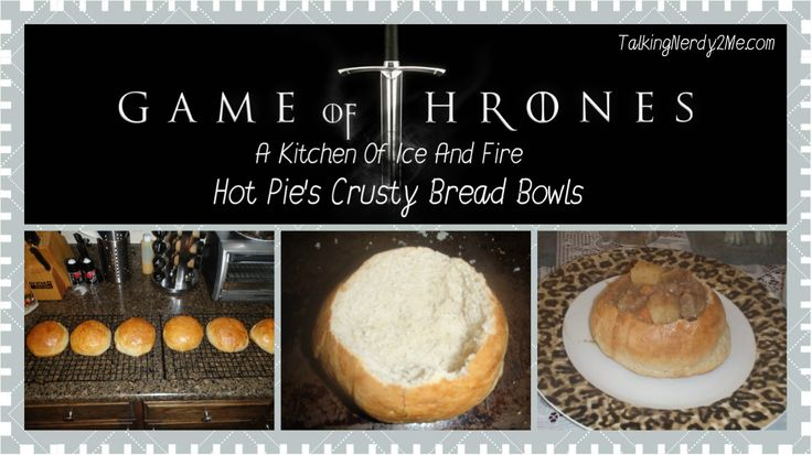 Game Of Thrones inspired meal - GoT Dinner Party.  Geeky food
