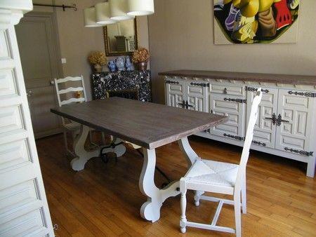 17 meilleures id es propos de peindre des meubles en for Salle a manger ancienne
