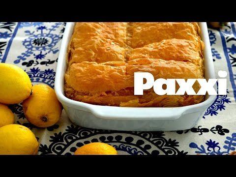 Παραδοσιακό τραγανό γαλακτομπούρεκο — Paxxi