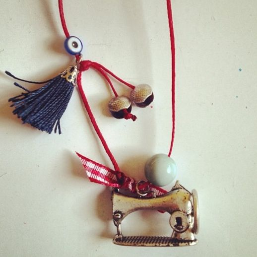 Paul and Ball handmade necklace