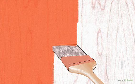 How to : Repeindre un meuble startifié