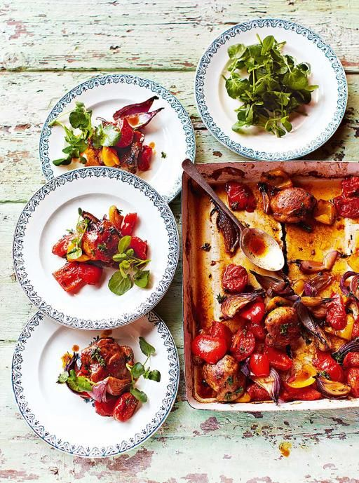 Hit 'n' run traybaked chicken | Jamie Oliver | Food | Jamie Oliver (UK)