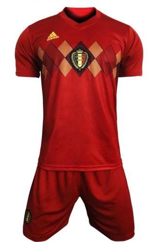 150ac9d9caa 2018 World Cup Belgium Home Red Soccer Uniform | National Team ...