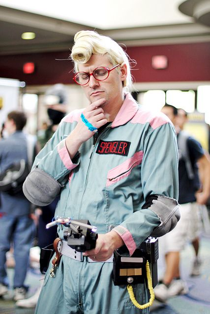 Major props goes to this guy for translating Egon's crazy cartoon pompadour into the real world!