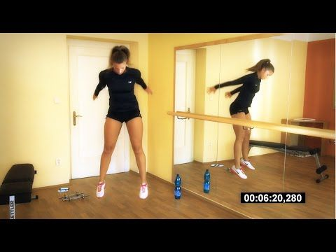 Playlist http://www.terezaworkout.com/bbg Bikini Body Guide Workout Week 1 Day 1, Kayla Itsines BBG by Tereza, Legday, Bikini Body Workout, BBG week 1, Worko...