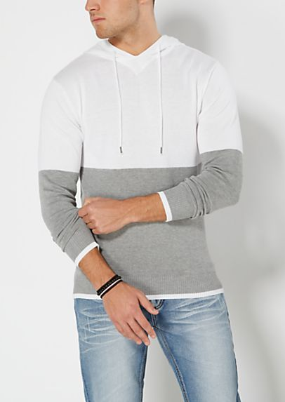 Color Block Sweater Hoodie | rue21