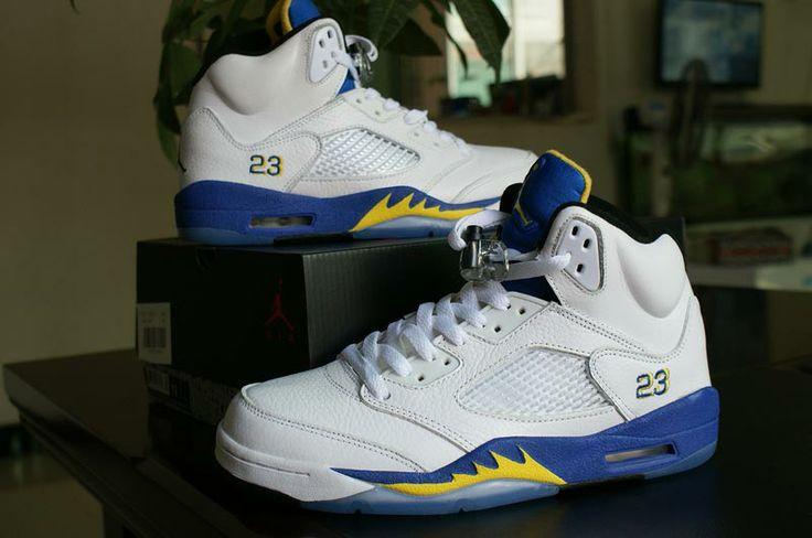Website for Half Off Tiffany Blue nikes #jordans 5 retro Running Shoes! $49