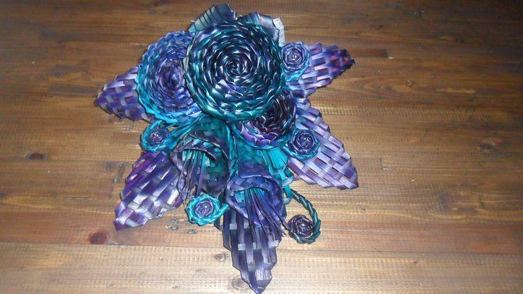 Brides bouquet-A flax bouquet.