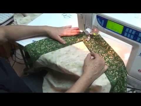 Barrado de tecido só com 1 costura (desvire e está pronto) - YouTube